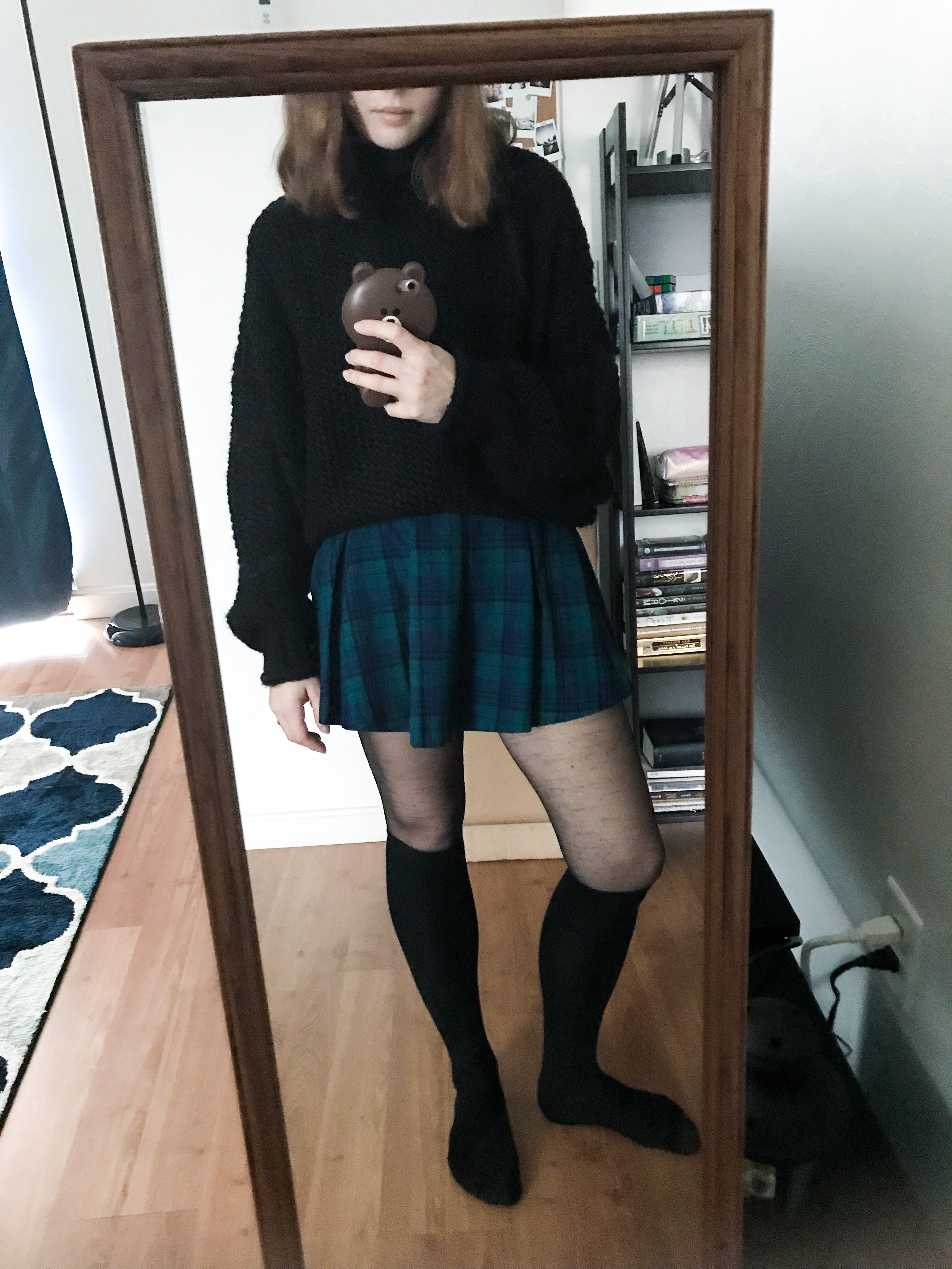 OOTD: Plaid Skirt Reborn